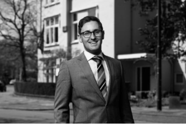 Danny Vellinga, advocaat-stagiair bij Van Iersel Luchtman Advocaten