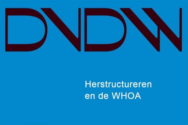 DVDW Magazine - Herstructureren en de WHOA