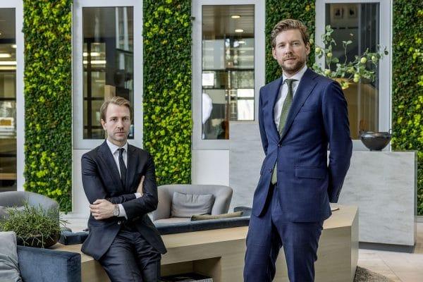 (v.l.n.r. Harm-Paul Plas en Daan Horsthuis - foto: Jean-Pierre Jans)