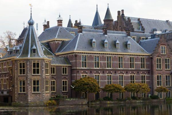 Hague city - building Parliament