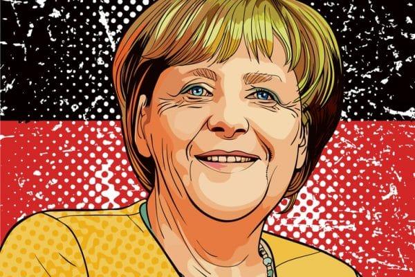 Angela Merkel - Mr. Online