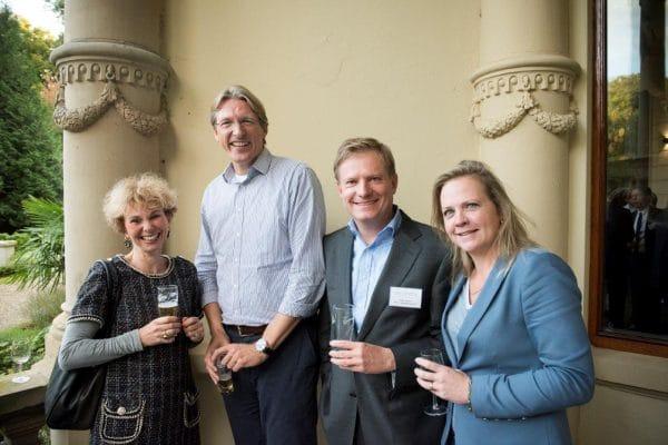 Nicoline de Smit (De Smit Advocaten Search), Menno Weij (BDO), Willem Leppink (Ploum) en Sandy Gadellaa (Gadellaa Advocatuur)