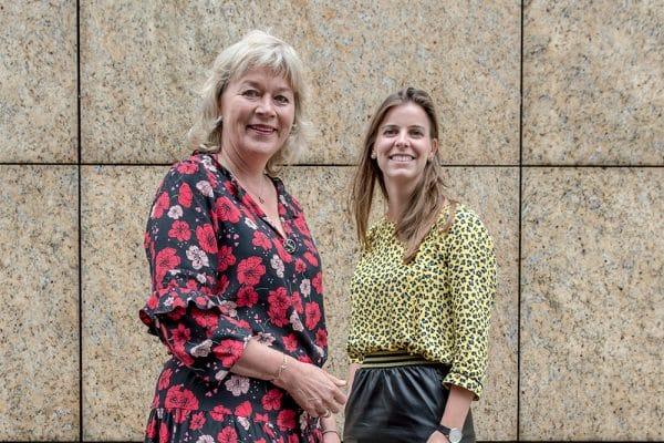 Ebba Hoogenraad en Jacobine van Beijeren