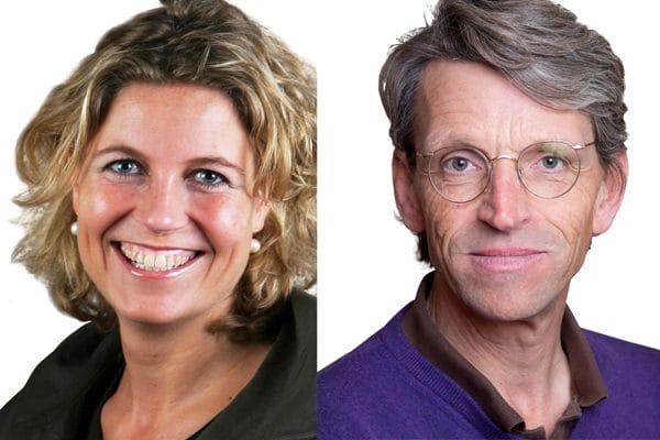 Quirine Eenhorst en Ate van IJlzinga Veenstra. Foto Jones Day