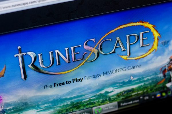 Ryazan, Russia - May 20, 2018: Homepage of RuneScape website on the display of PC, url - RuneScape.com.