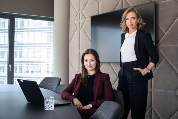 HR-team DVDW: Tamsin de Jong en Andrea Blok