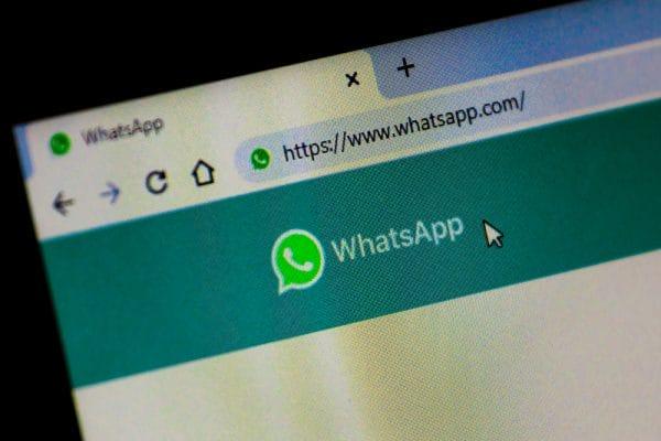 Logo Whatsapp of tekst uit Groepsapp. - Mr Online