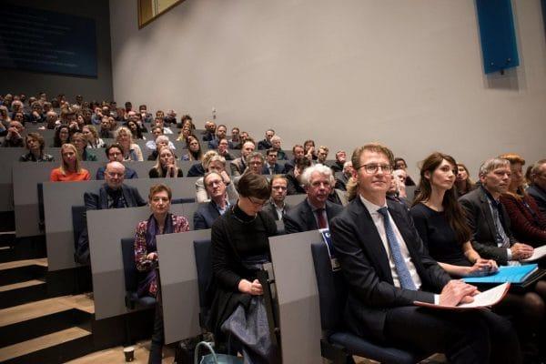 Minister Sander Dekker van Justitie en Veiligheid