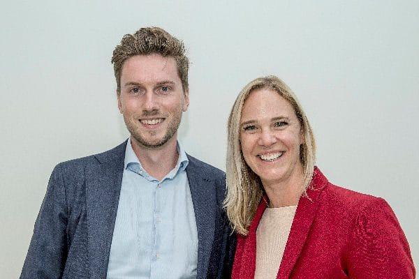 Cees Plaizier en Sandra van Heukelom-Verhage (foto: Geert Snoeijer)