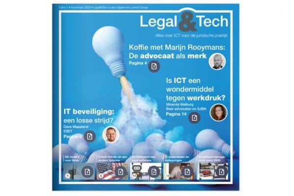 Nieuw magazine over ICT en innovatie voor juridische praktijk