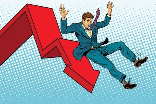 Opvallend weinig faillissementen in oktober