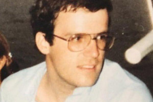 Hoogleraar André Nuytinck tijdens zijn studententijd