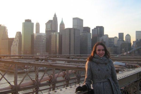 Marijn Kingma in New York, januari 2010