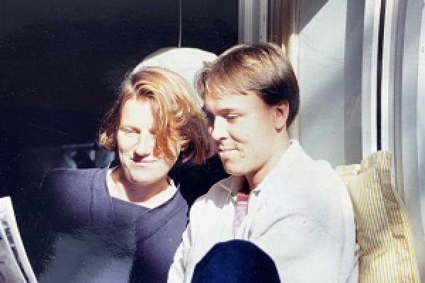 Tom Barkhuysen tijdens zijn studententijd met zijn toenmalige én huidige partner, Annemieke Hendrikse, die thans advocaat-partner aansprakelijkheids- en verzekeringsrecht is bij Van Doorne