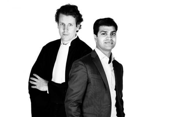 Veeru Mewa en Joran Wildeboer