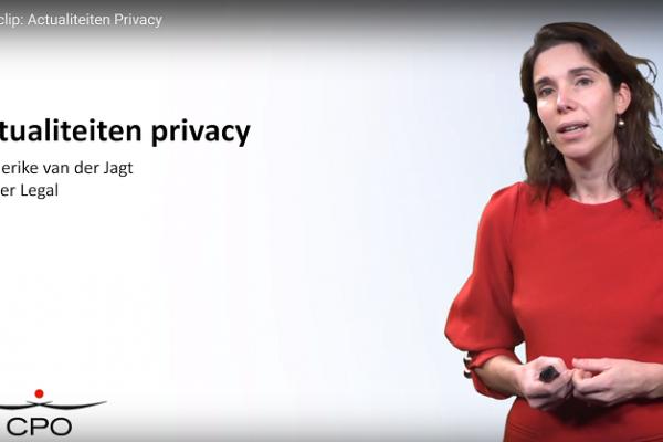cpo kennisclip actualiteiten privacy