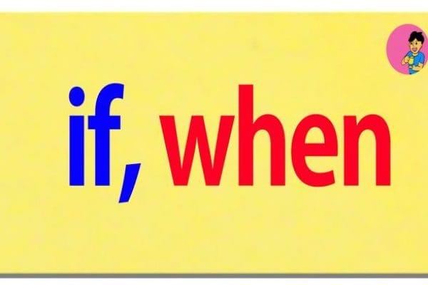 if en when