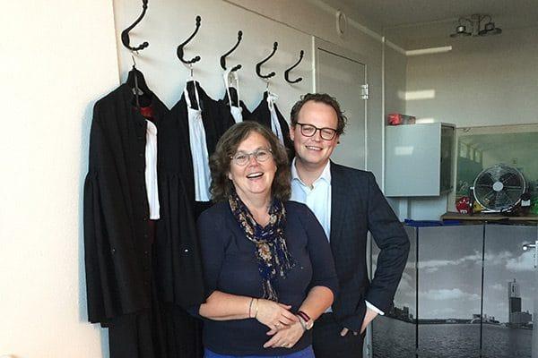 Marjolein Rietbergen en Ivar Brouwer.