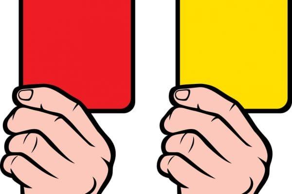 rode gele kaart